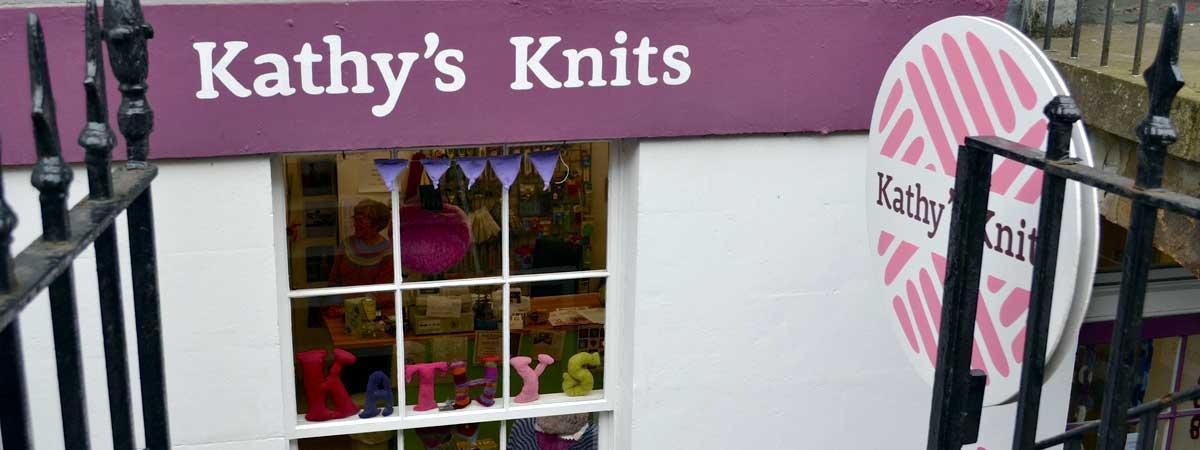 Kathys Knits Shop front