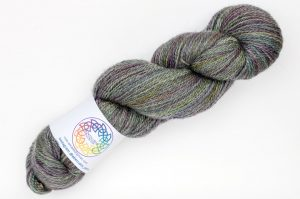BFL-Masham 4-ply Grey-green and purple