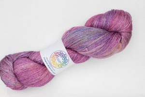 BFL-Silk 4-ply 150g - bright pink