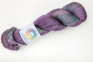 BFL-Silk 4-ply 100g - Shona - pink, purple, blue and orange