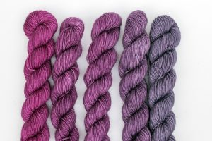 BFL-Nylon Gradient Sets Pink and purple