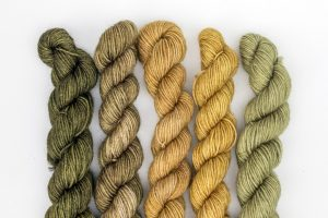 BFL-Nylon Gradient Sets Green and gold