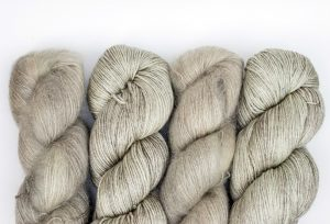 Kid Mohair-Silk - muted pale green 4 pack