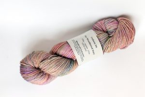 100% Bluefaced Leicester The Weathered Fairy - peach, pink and grey
